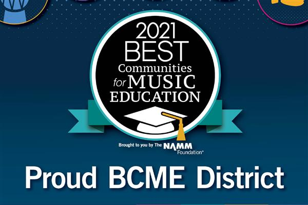 Best Communities for Music Education 2021 logo